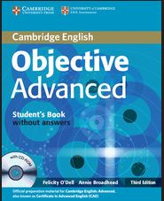 Objective Advanced student and work Book PDF