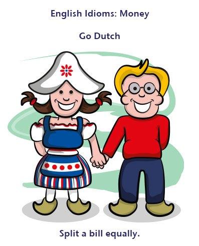 اصطلاح تصویری Go Dutch