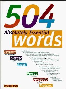 دانلود رایگان کتاب 504 واژه