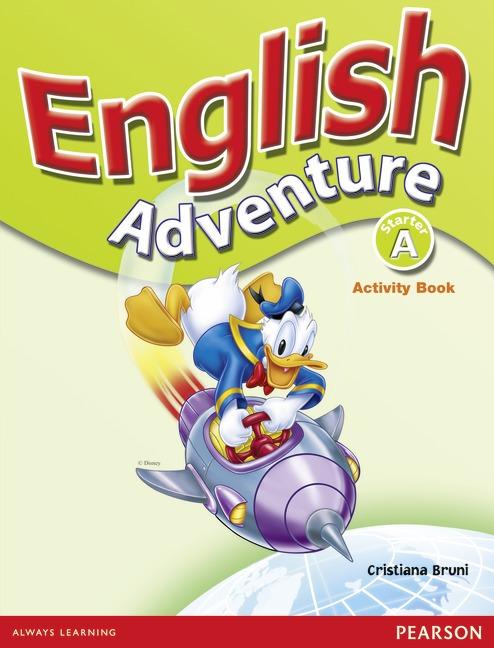 دانلود کتابهای دانش آموز English Adventure Starter