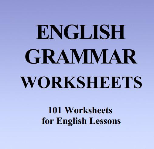 دانلود English Grammar Worksheet