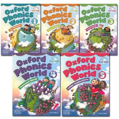 آزمونهای استاندارد و درس به درس oxford phonics world