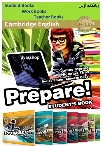 کتابهای Cambridge English Prepare