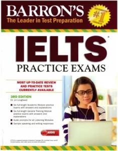 دانلود ویرایش سوم کتاب Barron's IELTS Practice Exams