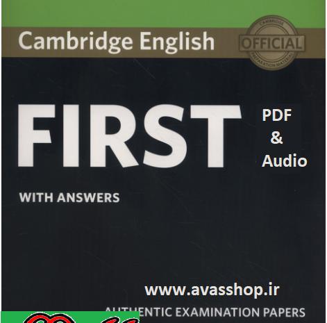 دانلود آزمونهای Cambridge English First