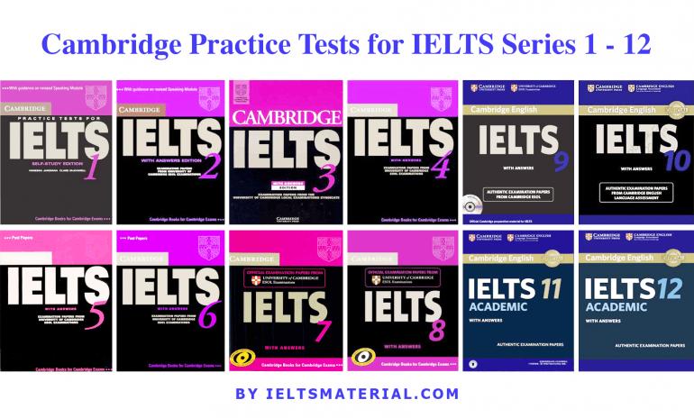 Cambridge-Ielts-series