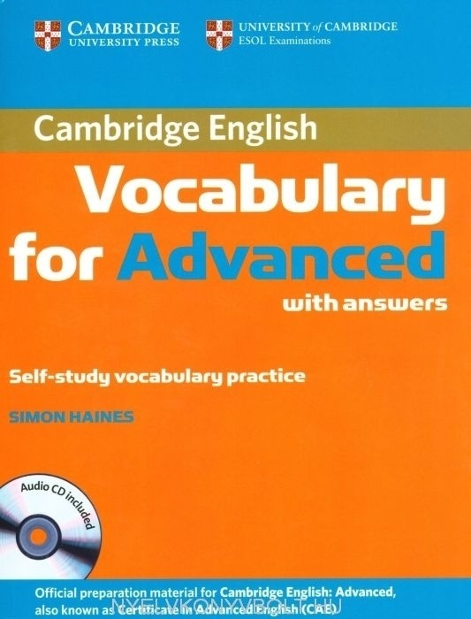 cambridge vocabulary for advanced
