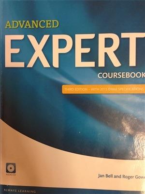 دانلود ویرایش سوم Advanced Expert Coursebook