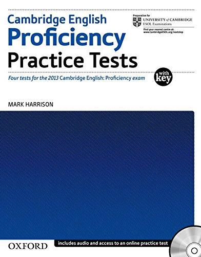 دانلود کتاب Cambridge English Proficiency Practice Tests