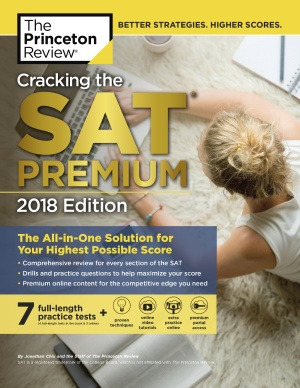 دانلود کتاب Cracking the SAT Premium 2018 Edition