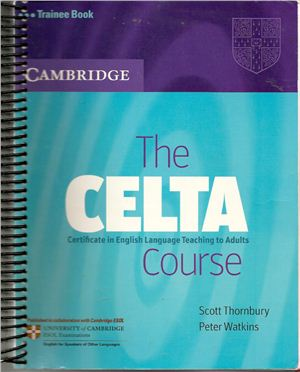 The CELTA Course PDF BOok