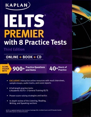 Kaplan's IELTS Premier with 8 Practice Tests