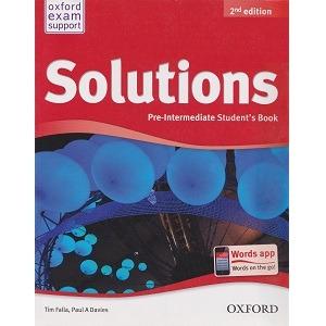 آزمونهای جمع بندی ویرایش دوم Solutions Pre-Intermediate