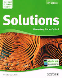 solutions elemenatry student book