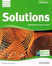 مجموعه آزمونهای ویرایش دوم Solutions Elementary