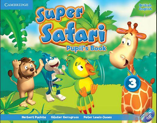 آزمونهای جمع بندی Super Safari 3