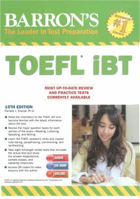 Barron's TOEFL iBT 15th edition