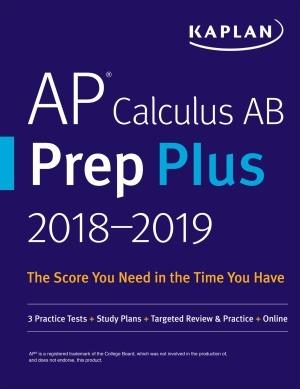دانلود کتاب AP Calculus AB Prep Plus 2018-2019