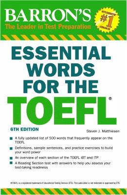 دانلود ویرایش ششم کتاب Essential Words for TOEFL