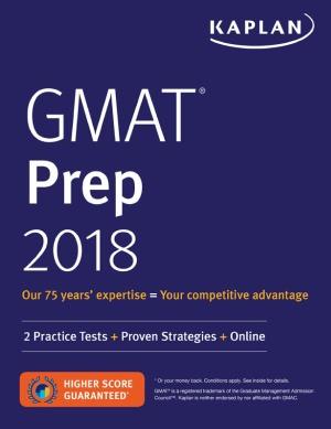 دانلود کتاب GMAT Prep 2018