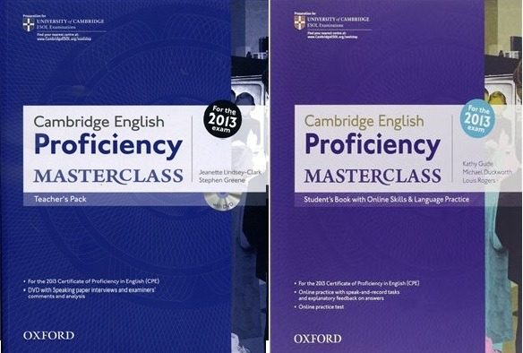 cambridge proficiency masterclass teacher