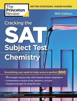 دانلود ویرایش شانزدهم Cracking the SAT Subject Test in Chemistry