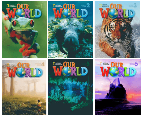 our world student books