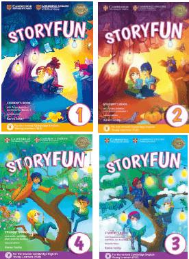 دانلود ویرایش دوم کتابهای زبان آموز Storyfun