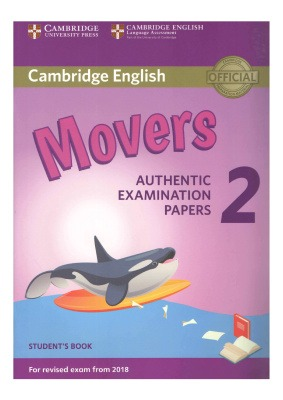 دانلود کتاب و کلید Movers 2 Authentic Examination Papers