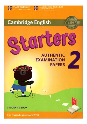 دانلود کتاب و کلید Starters 2 Authentic Examination Papers