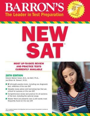دانلود ویرایش بیست هشتم کتاب Barron's New SAT 28th Edition