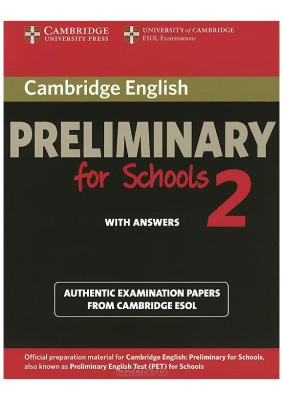 دانلود کتاب زبان آموز Cambridge English Preliminary for Schools 2