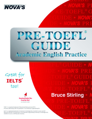 دانلود رایگان کتاب Pre-TOEFL Guide: Academic English Practice