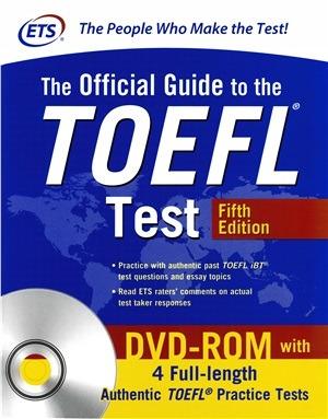 دانلود ویرایش پنجم کتاب و فایل صوتی The Official Guide to the TOEFL Test