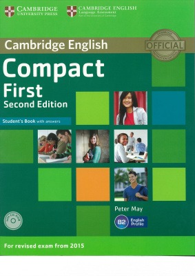 compact first student book second edition