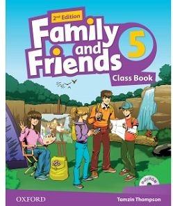 نمونه سوالات جمع بندی ویرایش دوم Family and Friends 5