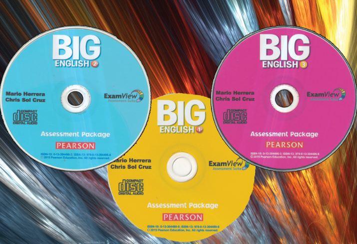 دانلود نرم افزار آزمون ساز و سوالات استاندارد کتابهای Big English