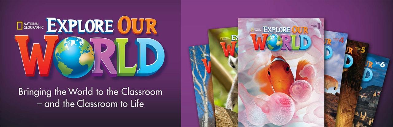 دانلود کتابهای دانش آموز Explore Our World