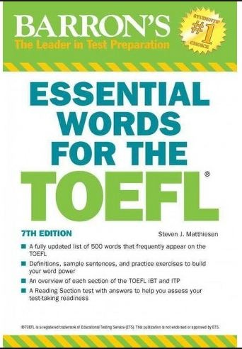 دانلود کتاب ویرایش هفتم Essential Words for the TOEFL