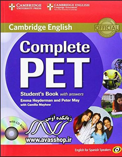 دانلود کتابهای Complete PET
