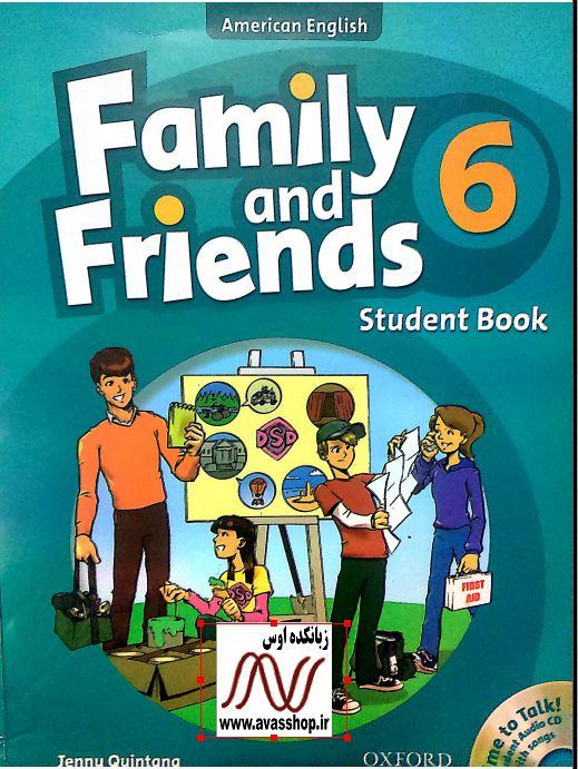سری دوم نمونه سوالات ویرایش اول Family and Friends 6