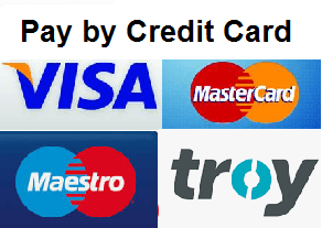pay by Credit Card in AVASshop