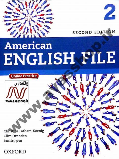 سری جدید نمونه سوالات ویرایش دوم American English File 2