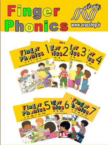 دانلود کتابهای Finger Phonics