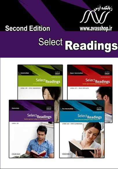 select reading book