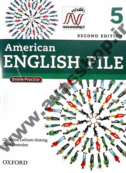 دانلود سری جدید نمونه سوالات ویرایش دوم American English File 5
