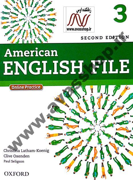دانلود سری جدید نمونه سوالات ویرایش دوم American English File 3