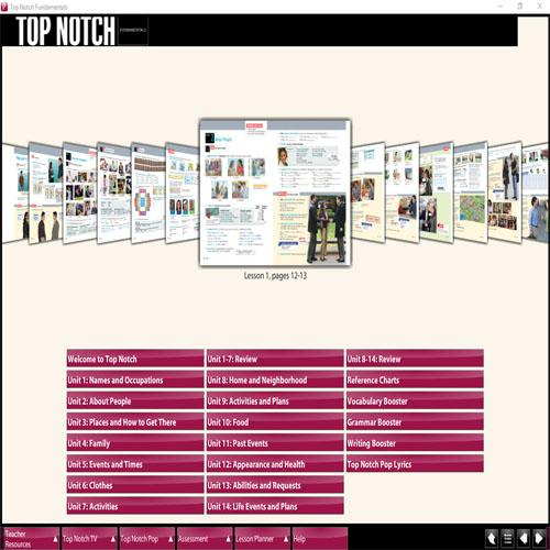 top notch active teach third edition