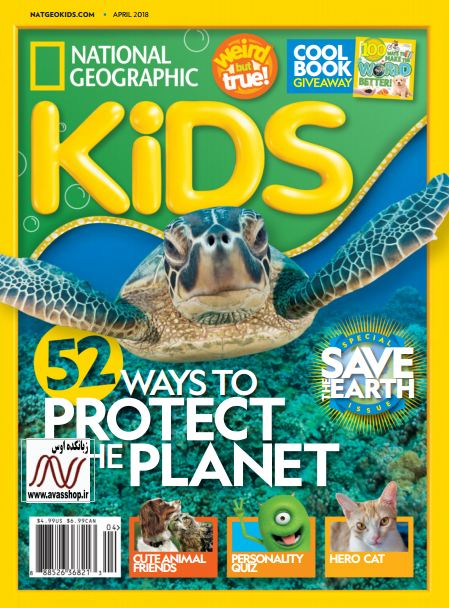 April national geographic kids 2018