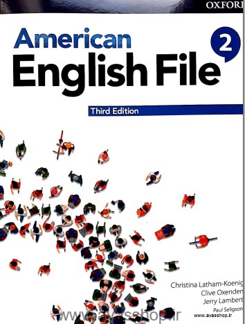 American File 2 Third Edition Student Book Avasshop